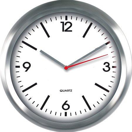 Zegar ścienny aluminium nowoczesny średni E01.2484.7000