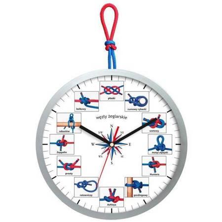 Zegar ścienny dla dzieci żeglarski ATE2013WZ2GRESW