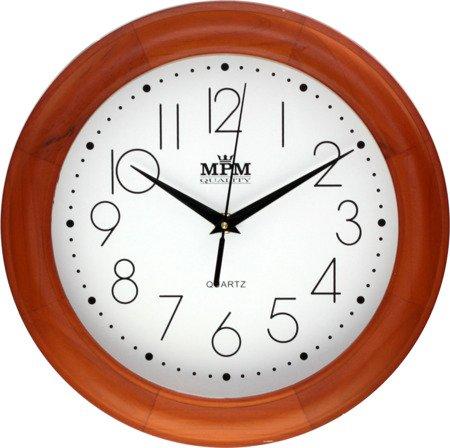 Zegar ścienny drewniany klasyczny średni E01.2473.51.W