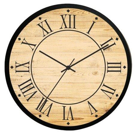Zegar ścienny retro loft 30cm ATE2014RB