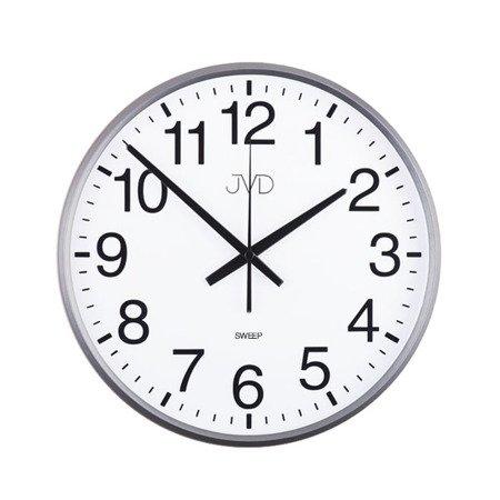 Zegar ścienny szary czytelny 30,5 HP684.1